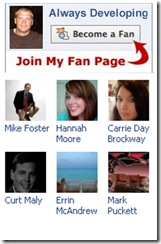 Fan page immage